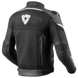 Giubbotto Moto REVIT Mantis Nero Bianco, Giubbotti e Giacche Tessuto Moto