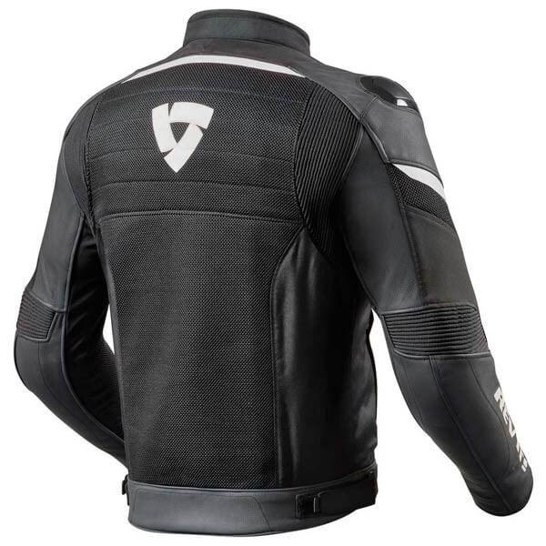 Motorcycle Jacket REVIT Mantis Black White