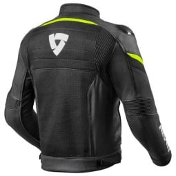 Motorcycle Jacket REV'IT Mantis Black Yellow Neon ,Motorcycle Textile Jackets