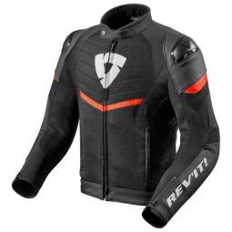 Motorrad Jacke REVIT Mantis Schwarz Rot