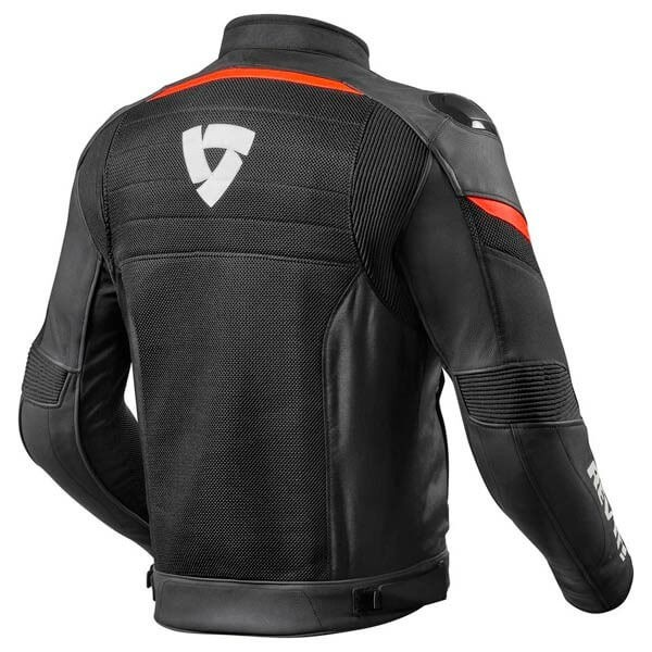 Motorcycle Jacket REVIT Mantis Black Red
