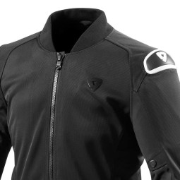 Motorcycle Fabric Jacket REVIT Traction Black White ,Motorcycle Textile Jackets