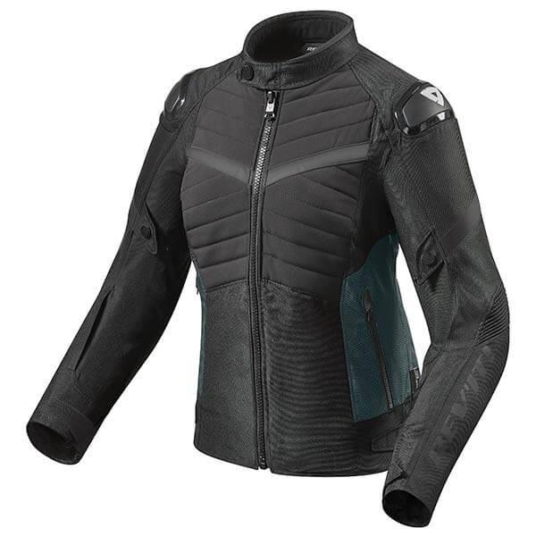 Chaqueta Moto REVIT Arc H2O Mujer Negro