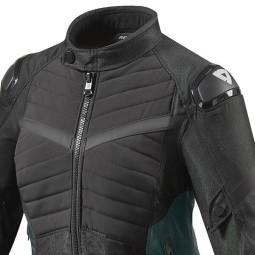 Motorrad Jacke REVIT Arc H2O Frau Schwarz ,Motorrad Textiljacken