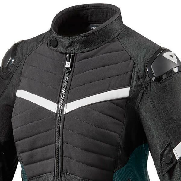Motorcycle Jacket REVIT Arc H2O Woman Black White