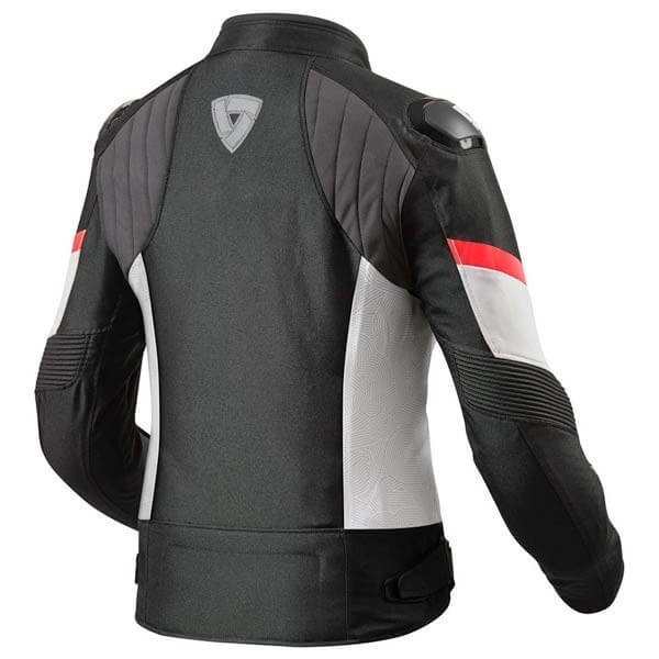 Motorcycle Jacket REVIT Arc H2O Woman Black Red
