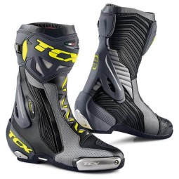 Motorcycle Boots TCX RT-Race Pro Air Grey Fluo ,Motorcycle Racing Boots