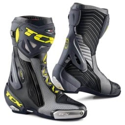 Stivali Moto TCX RT-Race Pro Air Grey Fluo, Stivali Moto Racing