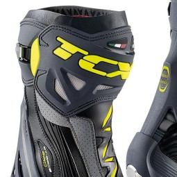 Motorcycle Boot TCX RT-Race Pro Air Grey Fluo ,Motorcycle Racing Boots