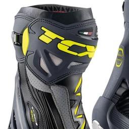 Motorradstiefel TCX RT-Race Pro Air Grey Fluo