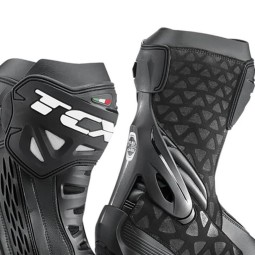 Motorcycle Boots TCX RT-Race Black ,Motorcycle Racing Boots