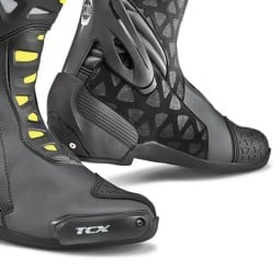 Stivali Moto TCX RT-Race Black Yellow, Stivali Moto Racing