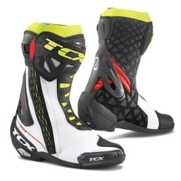 Motorcycle Boot TCX RT-Race White ,Motorcycle Racing Boots
