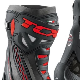 Motorradstiefel TCX RT-Race Black Red