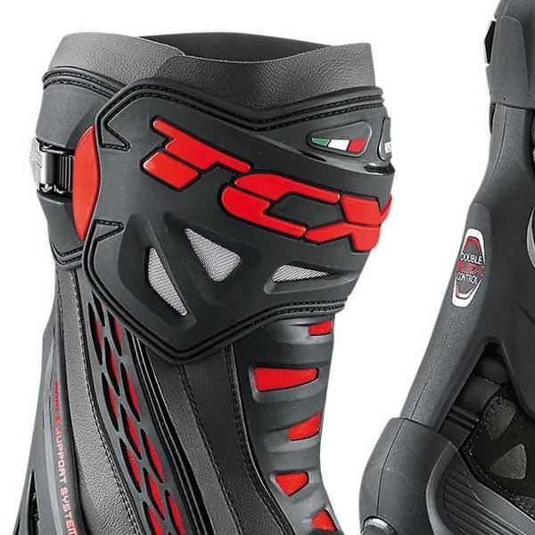 Bottes Moto TCX RT-Race Black Red