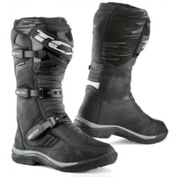 Motorcycle Boots TCX Baja Waterproof Black ,Motorcycle Boots Adventure