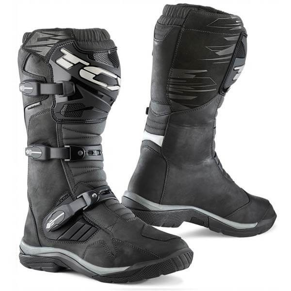 Stivali Moto TCX Baja Waterproof Black, Stivali Moto Adventure / OffRoad