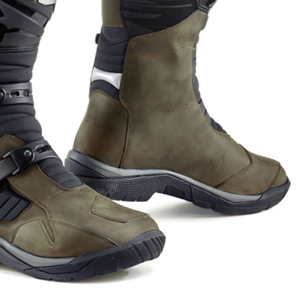 Bottes Moto TCX Baja Waterproof Brown