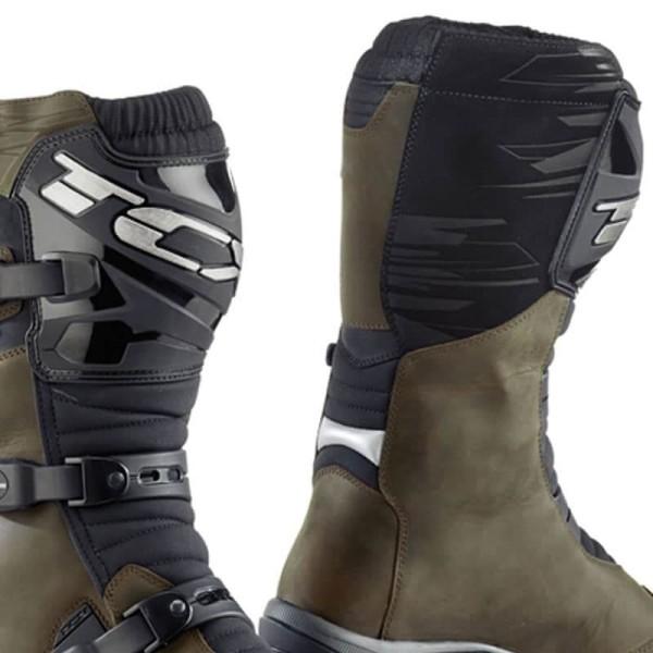 Motorcycle Boots TCX Baja Waterproof Brown