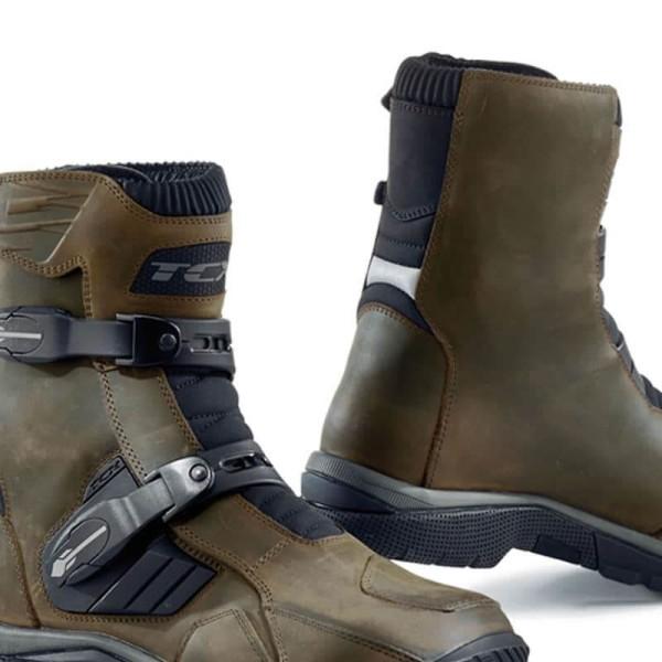 Enduro Boots TCX Baja Mid Waterproof Brown