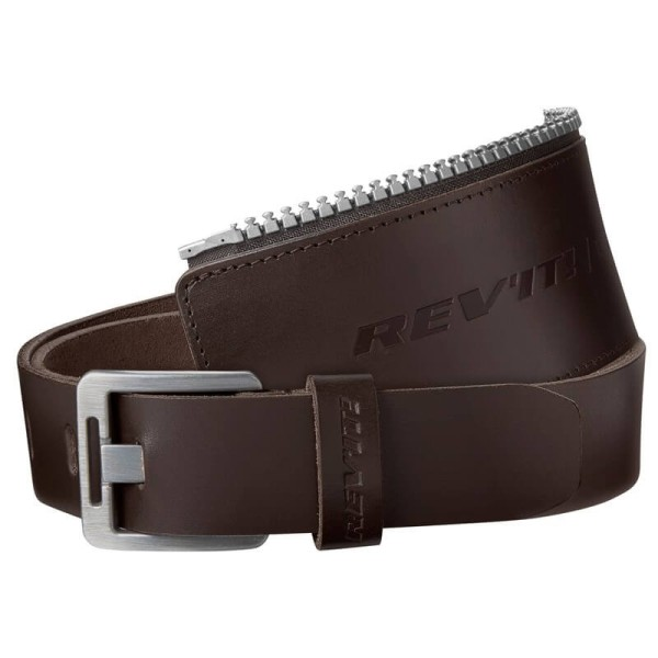 Motorrad Leder Gürtel REVIT Safeway 30 Brown