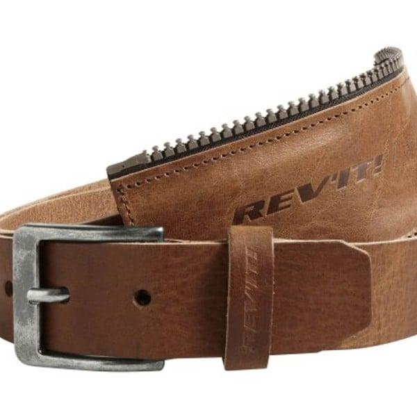 Motorcycle Leather Belt REVIT Safeway 2 Brown