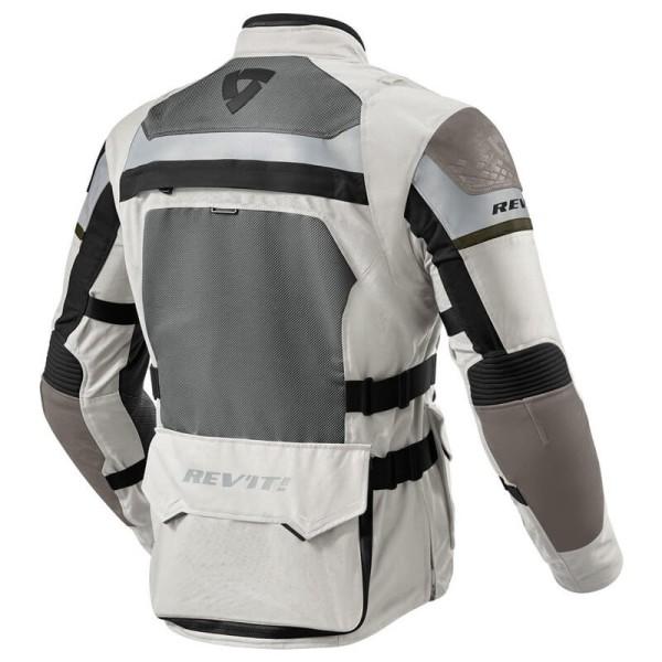 Motorcycle Jacket REVIT Cayenne Pro Grey Green