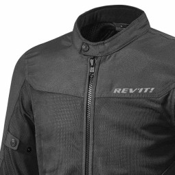 Motorcycle Fabric Jacket REVIT Eclipse Black ,Motorcycle Textile Jackets