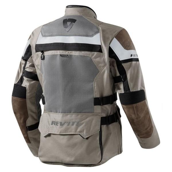Motorcycle Jacket REVIT Cayenne Pro Sand Black