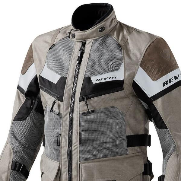 Motorrad Jacke REVIT Cayenne Pro Sand Schwarz