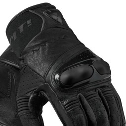 Motorcycle Gloves Leather REVIT Hyperion Black