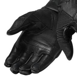 Gants moto en cuir REVIT Hyperion Noir