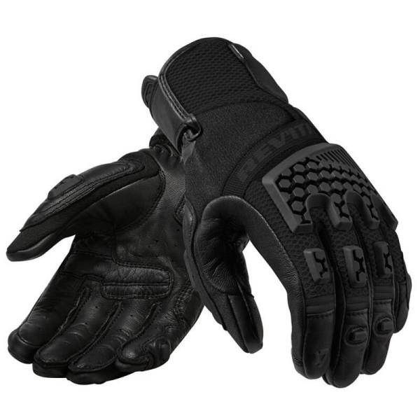 Motorrad-Handschuhe REVIT Sand 3 Frau Schwarz
