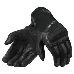 Motorradhandschuhe REVIT Striker 3 Schwarz ,Motorrad Lederhandschuhe
