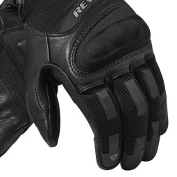 Motorcycle Gloves REVIT Striker 3 Black ,Motorcycle Leather Gloves