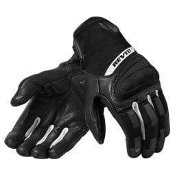 Motorcycle Gloves REVIT Striker 3 Black White
