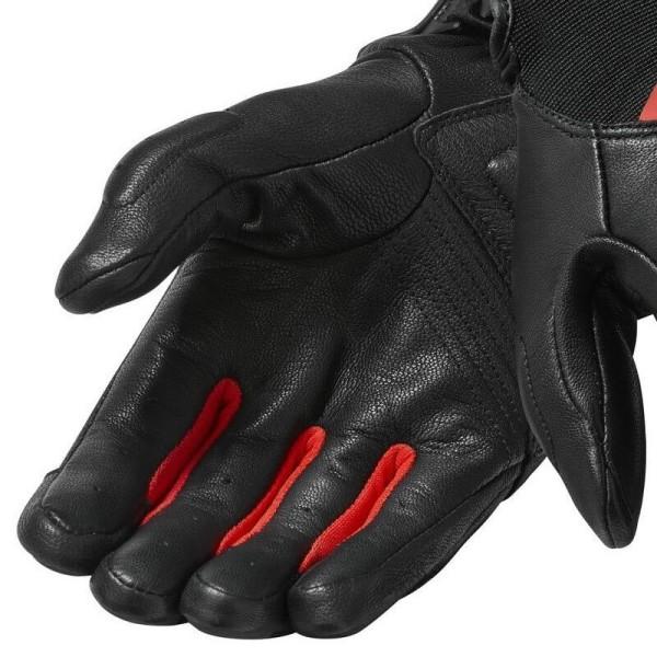 Motorradhandschuhe REVIT Striker 3 Schwarz Rot