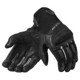 Motorcycle Gloves REVIT Striker 3 Black Silver