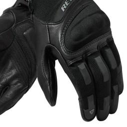 Gants Moto REVIT Striker 3 Femme Noir ,Gants Moto Cuir
