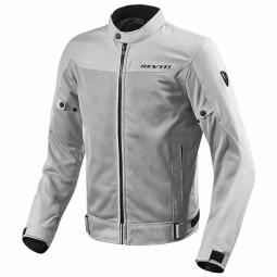 Giubbotto Moto Tessuto REVIT Eclipse Argento, Giubbotti e Giacche Tessuto Moto
