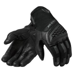 Motorcycle Gloves REVIT Neutron 3 Black ,Motorcycle Leather Gloves