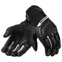 Motorcycle Gloves REVIT Neutron 3 Black White ,Motorcycle Leather Gloves