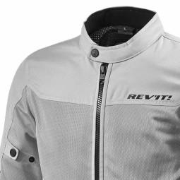 Blouson Moto Tissu REVIT Eclipse Argent ,Blousons et Vestes Moto Tissu