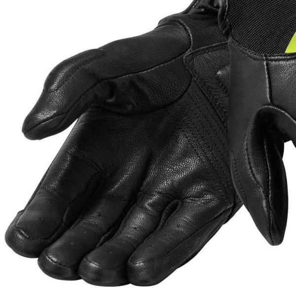 Motorradhandschuhe REVIT Neutron 3 Schwarz Gelb