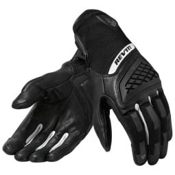 Motorcycle Gloves REVIT Neutron 3 Woman Black White ,Motorcycle Leather Gloves