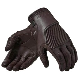 Motorcycle Gloves Leather REVIT Bastille Brown ,Motorcycle Leather Gloves