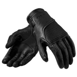 Motorcycle Gloves Leather REVIT Bastille Woman Black
