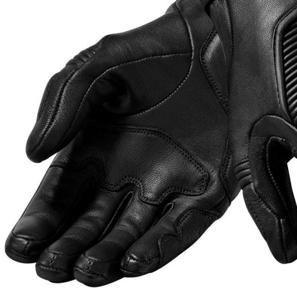 Gants moto en cuir REVIT Bastille Femme Noir