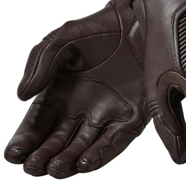 Motorcycle Gloves Leather REVIT Bastille Woman Brown