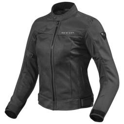 Motorrad-Stoffjacke REVIT Eclipse Frau Schwarz ,Motorrad Textiljacken